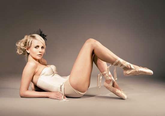 Lounging Lingerie Ballerinas