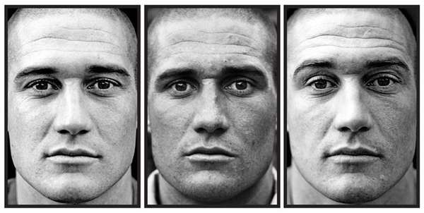 Before & After War Portraits
