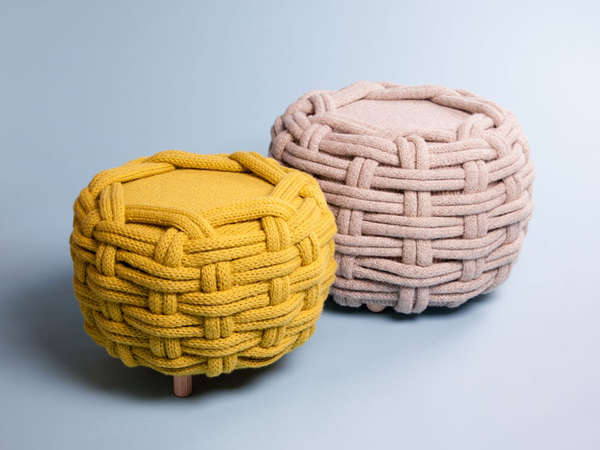 Sumptuously Knit Seating