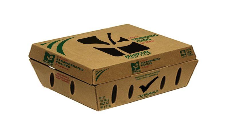 Cardboard Clamshell Packaging