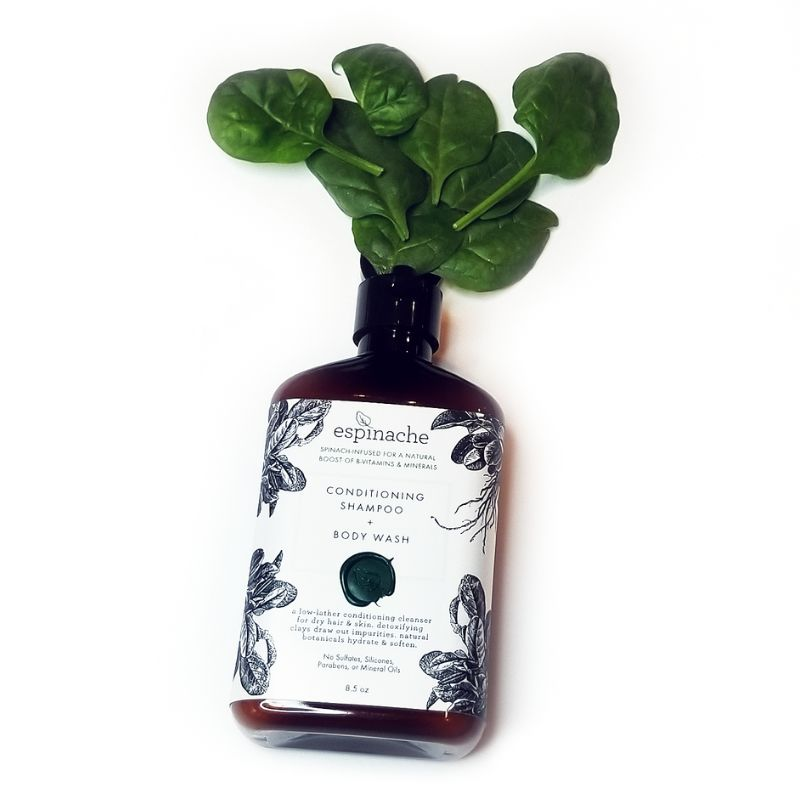 Spinach-Packed Personal Cleansers