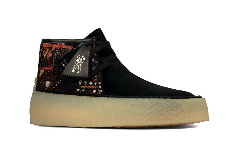 Tapestry-Clad Moccasin Boots