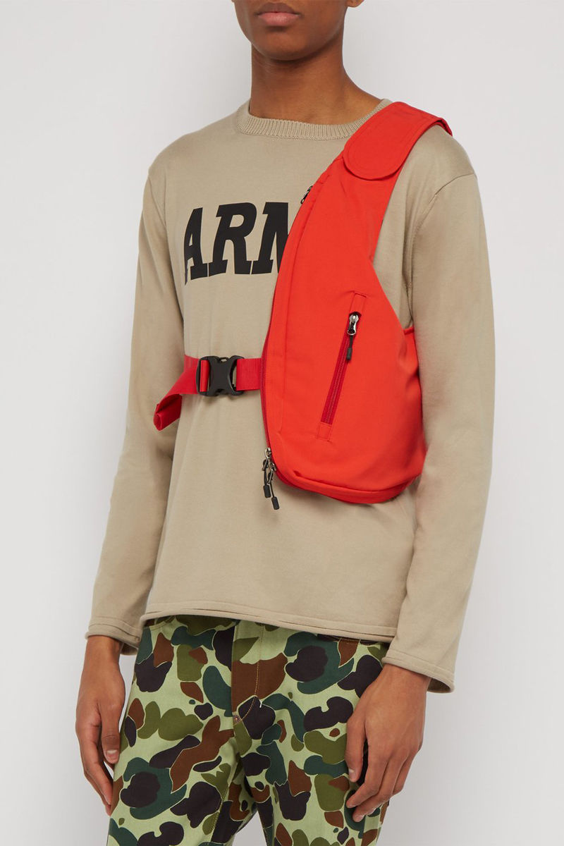 Technical Clasped Crossbody Bags