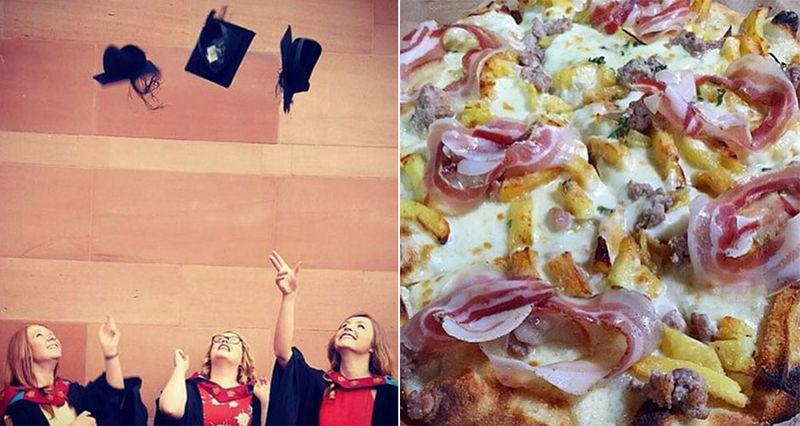 Collegiate Pizza Degrees