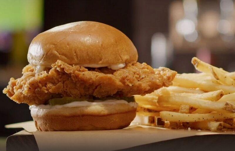 No-Frills Chicken Sandwiches