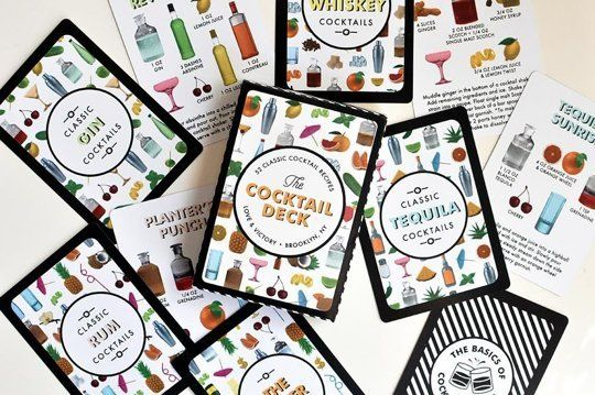 Cocktail-Inspired Card Decks