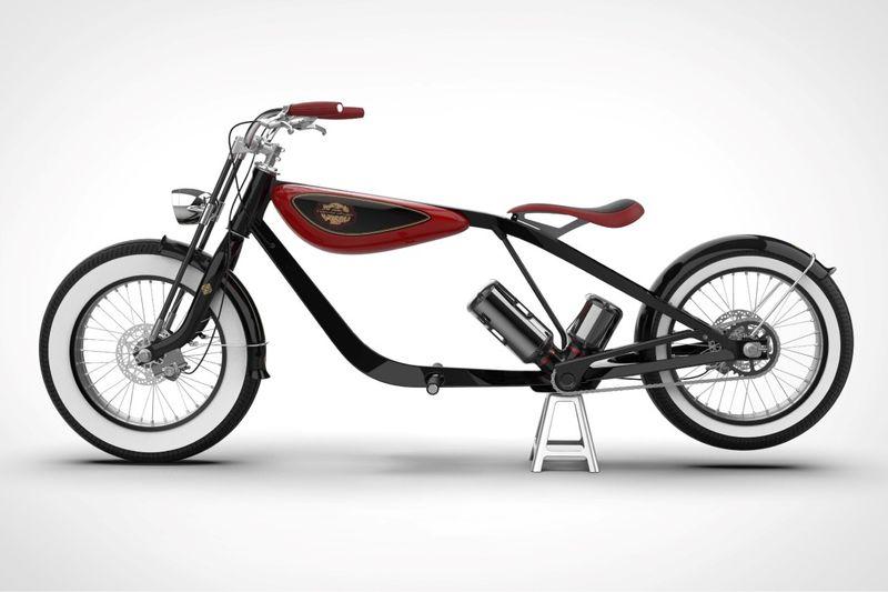 Modernized Electric Cruiser Bikes