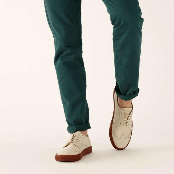 Sharply Updated Classic Footwear