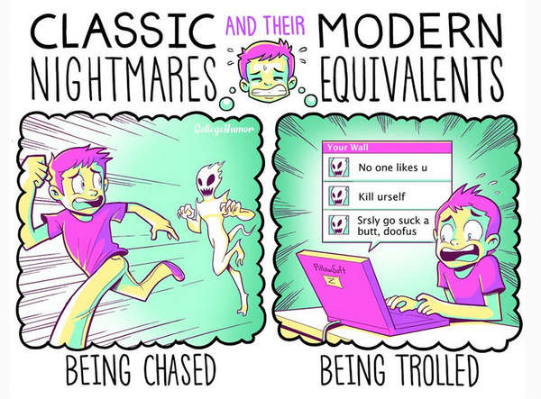 Modernized Nightmare Depictions