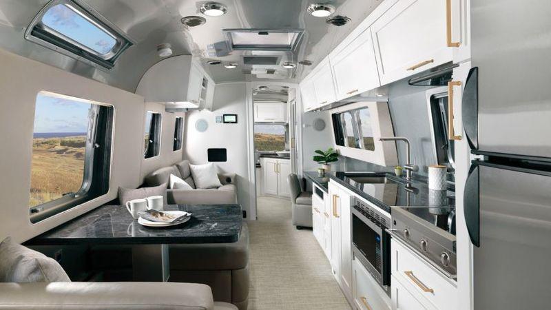 Modern Amenity Travel Trailers