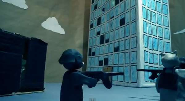Action-Packed Claymation Spoofs