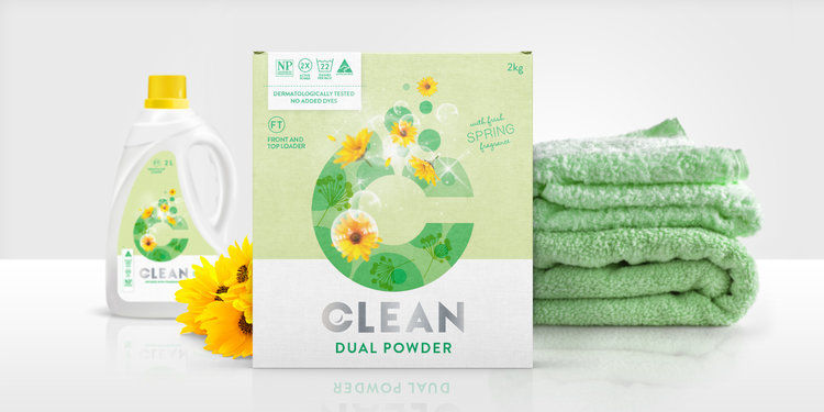 Clean-Label Laundry Products