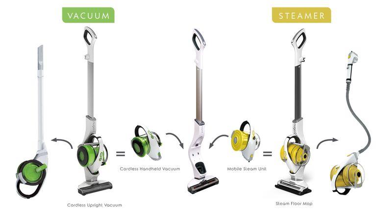 Hybrid Vacuum-Steamers