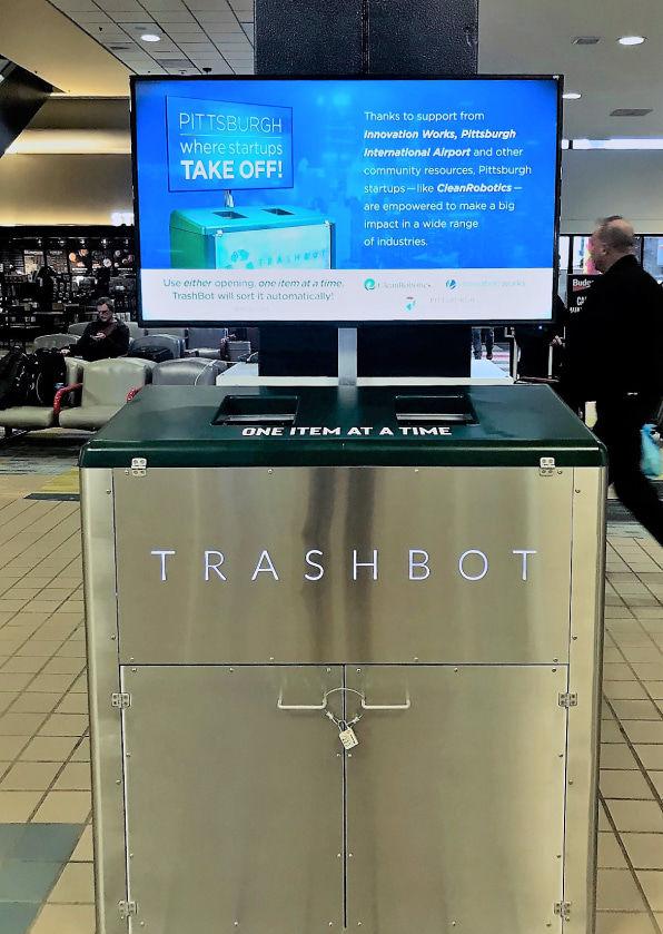 Robotic Trash Bins