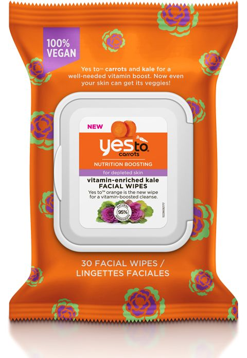Kale-Infused Facial Wipes