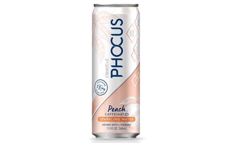 Peachy Caffeinated Water Drinks