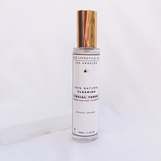 Crystal-Infused Clearing Toners