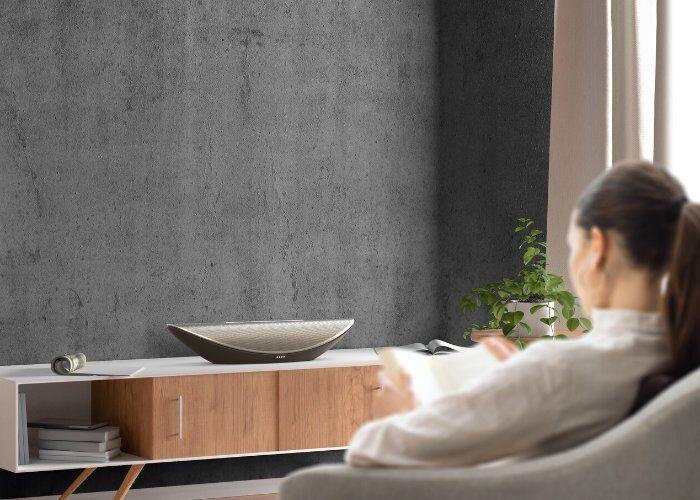 Sculpted Crescent Smart Speakers