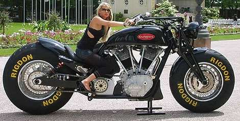 Super Sized Motorcycles
