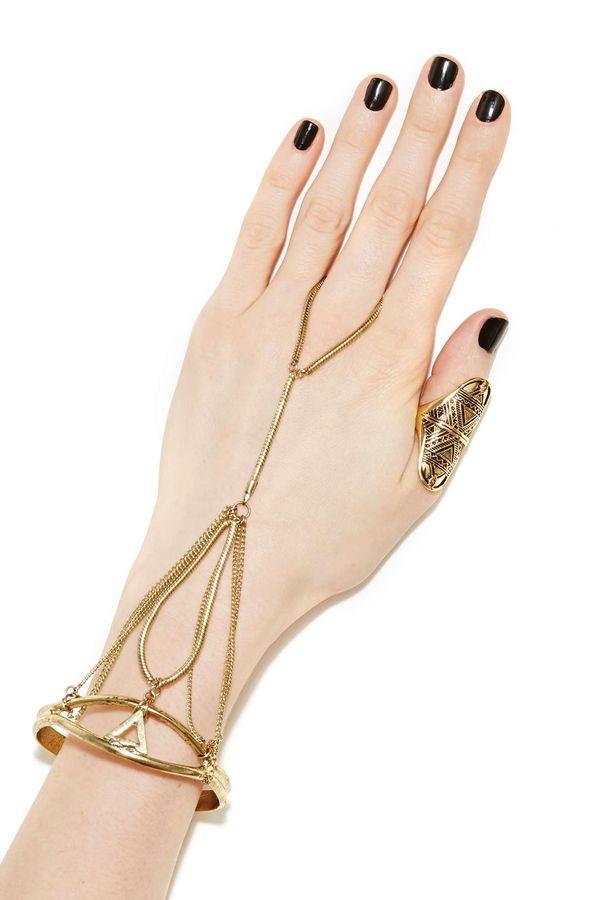 Egyptian Goddess Hand Accessories : Cleo Handpiece