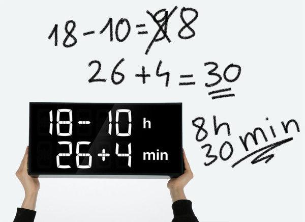 Math-Based Digital Clocks