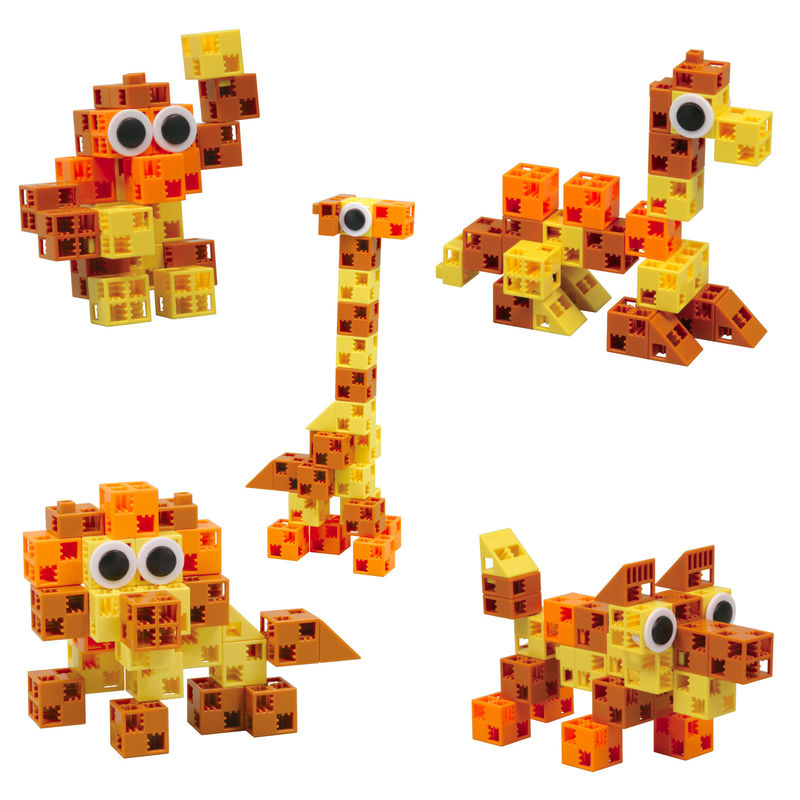 Building Block Safari Toys