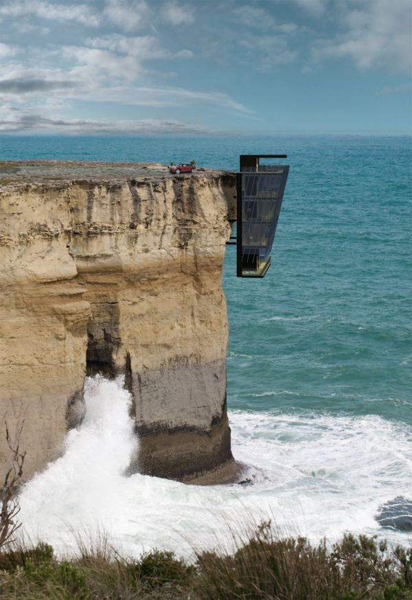 Cliff-Hanging Houses