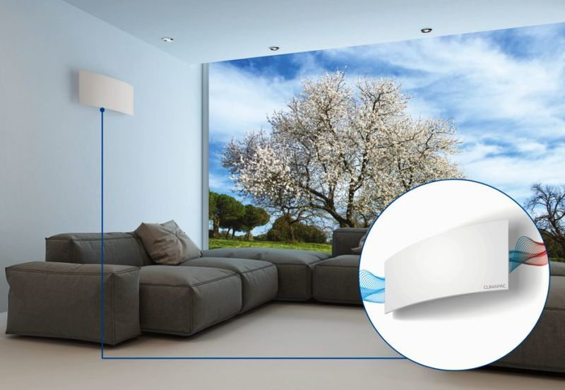 Wall-Mounted Air Purifier Lights