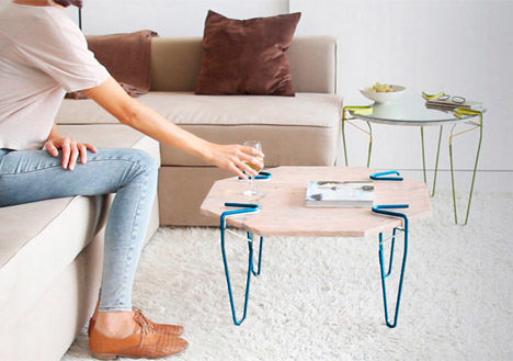 Clip-On Furniture Legs