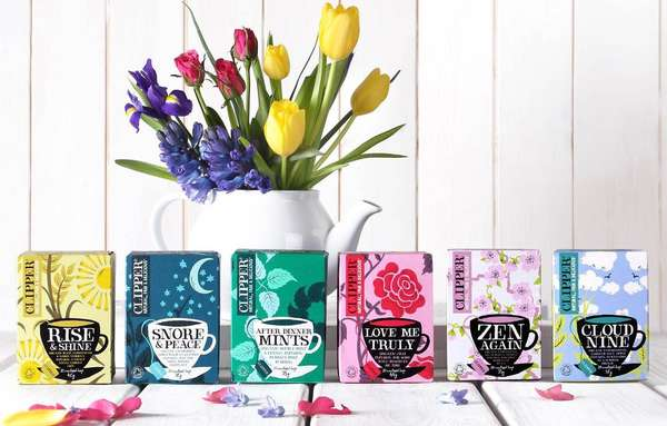 Organically Packaged Teas