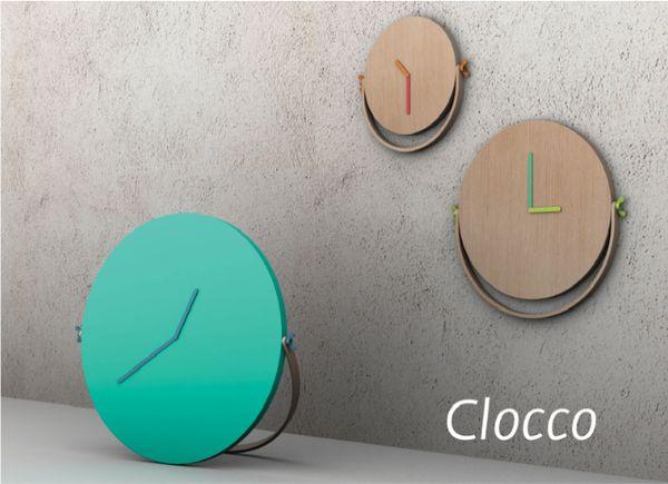 Handsomely Handled Clocks