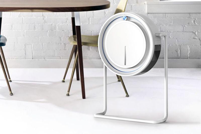 Designer Dehumidification Appliances : CLOCK dehumidifier