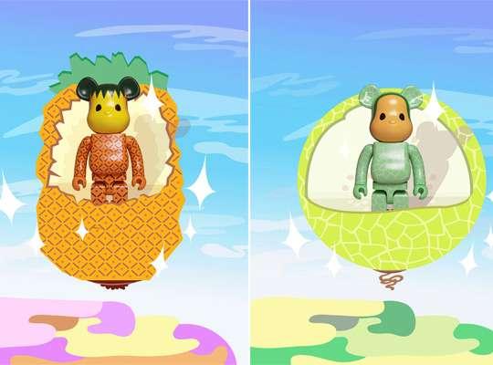 Fruity Teddy Figurines
