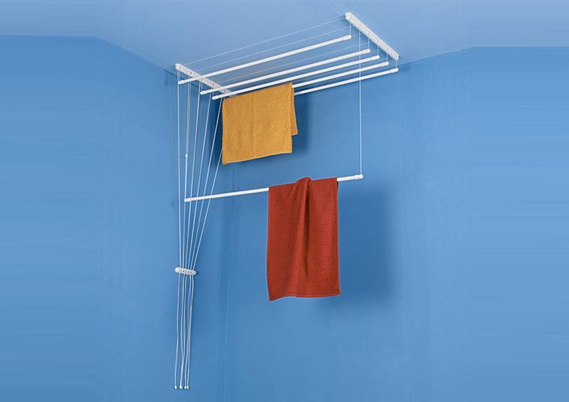 Electricity-Free Laundry Racks