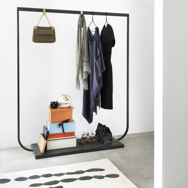 Retail-Inspired Clothing Racks