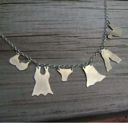 Clothesline Necklaces