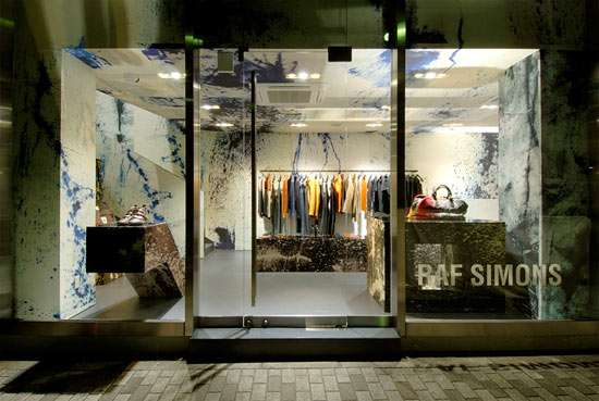 Splatter-Painted Retail Revivals