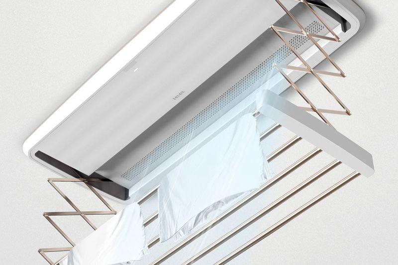 Ceiling-Mounted Drying Racks