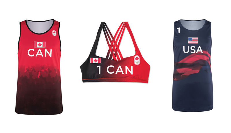 Olympian Volleyball Uniforms Clothing For Athletes