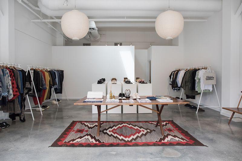 Ultra-Modern Clothing Pop-Up Shops