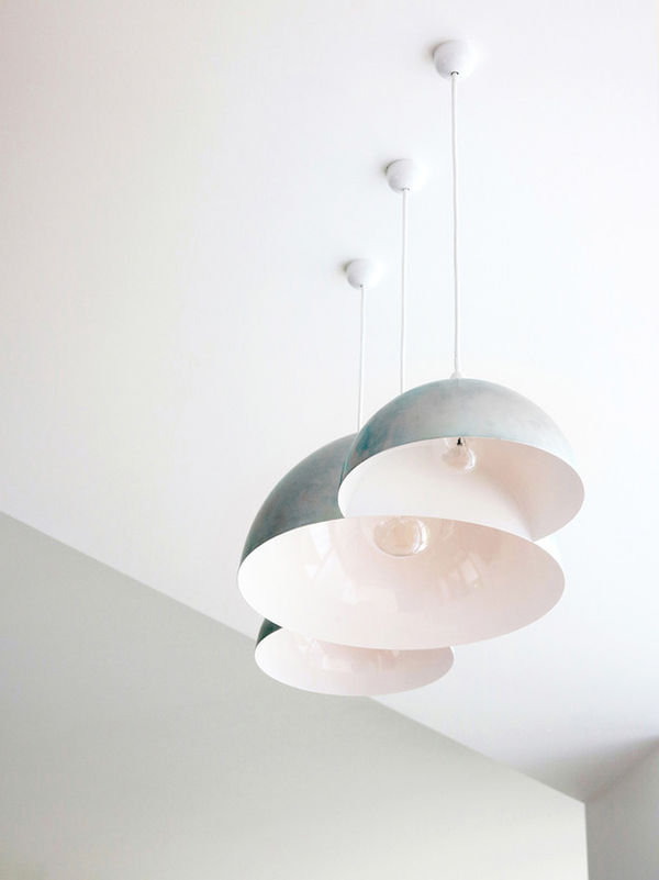 Triply-Melded Ceiling Lamps
