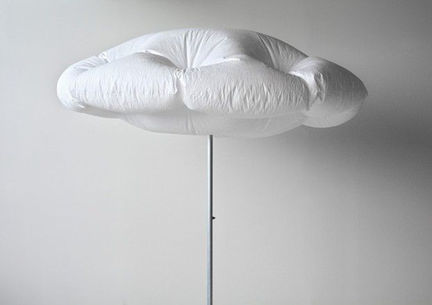 Inflated Cloud Umbrellas