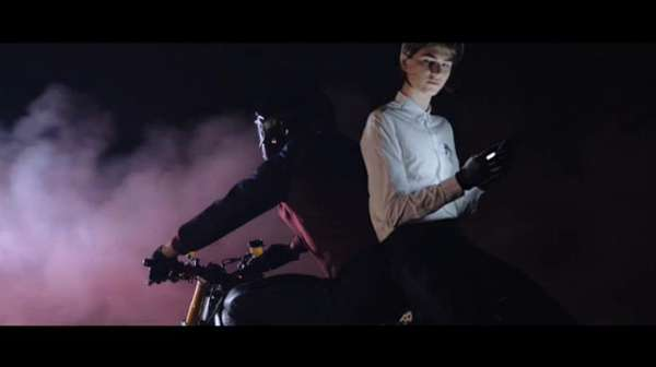 Dramatized Stunt Fashion Ads