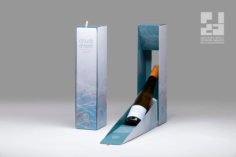 Interactive Alcohol-Free Wine Packaging