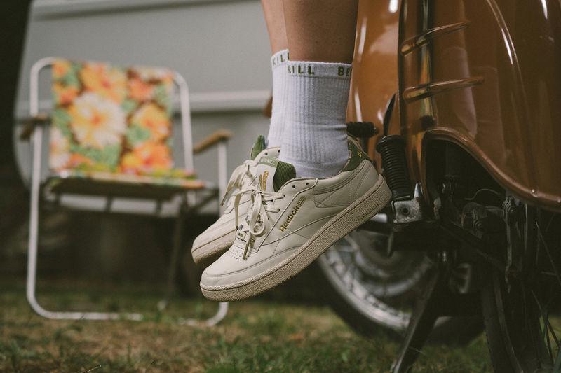 East Berlin-Inspired Sneakers