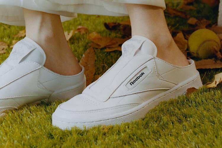 Laceless Mule-Like Sneakers