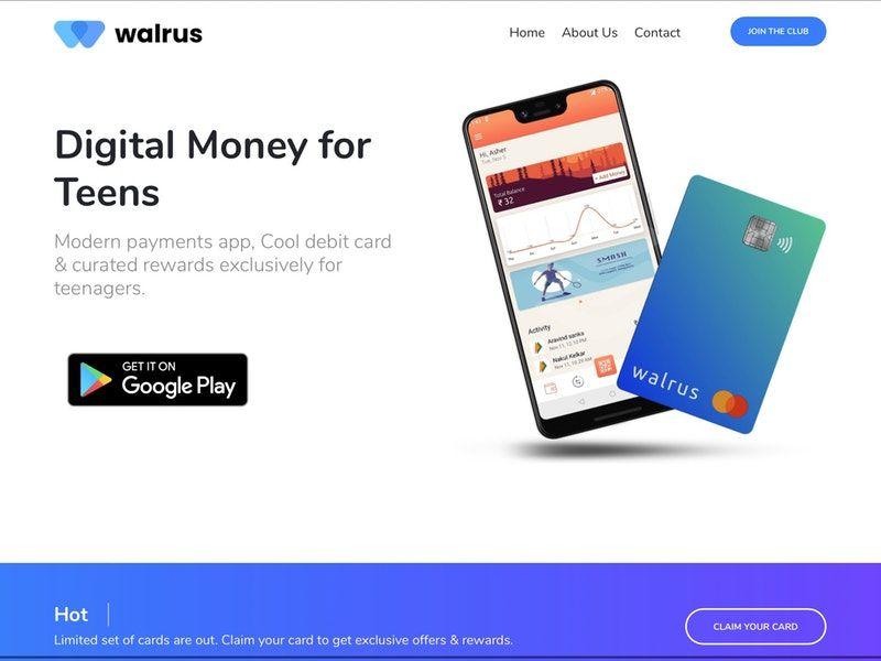 Teen-Targeted Digital-Only Banks