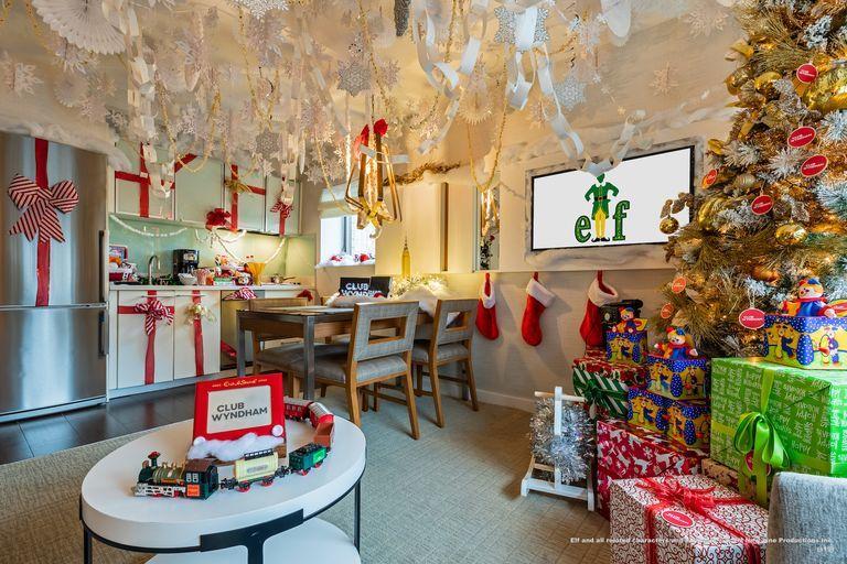 Elf-Inspired Hotel Suites