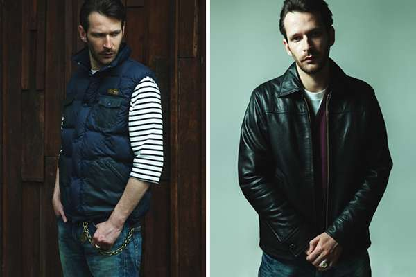 Lumberjack-Inspired Lookbooks