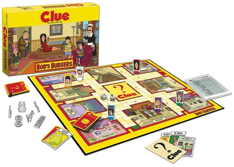 Cartoon-Themed Whodunit Games